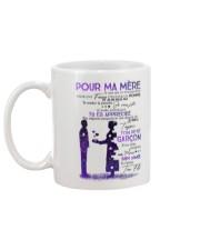 POUR MA MERE Mug back