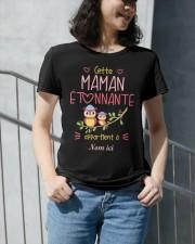 CETTE MAMAN ETONNANTE Premium Fit Ladies Tee apparel-premium-fit-ladies-tee-lifestyle-front-34