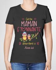 CETTE MAMAN ETONNANTE Premium Fit Ladies Tee garment-premium-tshirt-ladies-front-01