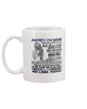 AN MEINEN SOHN Mug back