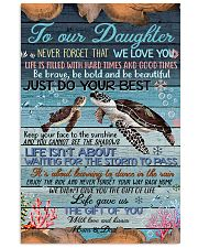 TO OUR DAUGHTER 11x17 Poster front