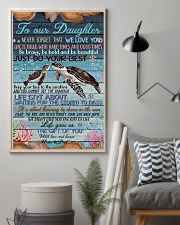 TO OUR DAUGHTER 11x17 Poster lifestyle-poster-1