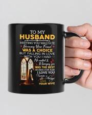 TO MY HUSBAND  Mug ceramic-mug-lifestyle-39