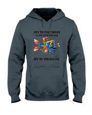 JOY TO THE FISHES  Hooded Sweatshirt thumbnail