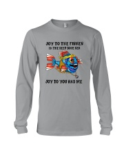 JOY TO THE FISHES  Long Sleeve Tee thumbnail