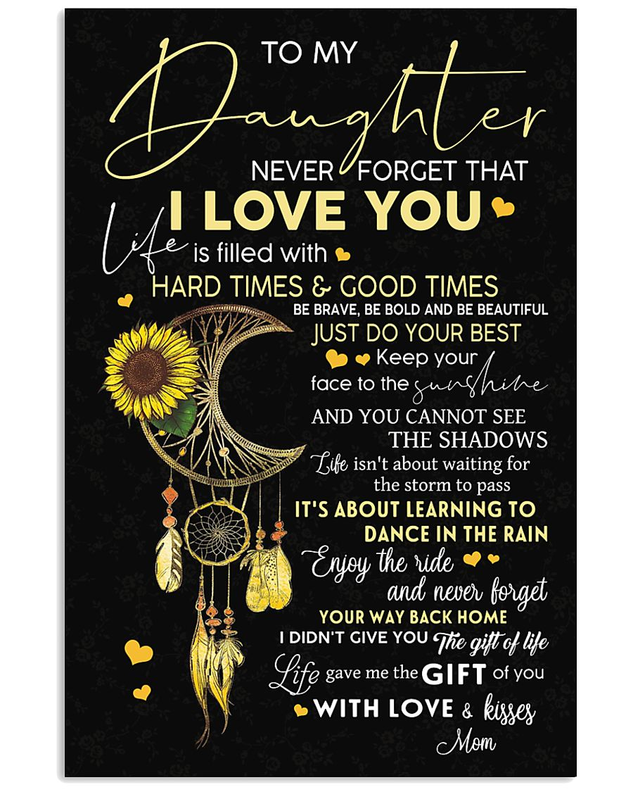 TO MY DAUGHTER 24x36 Poster