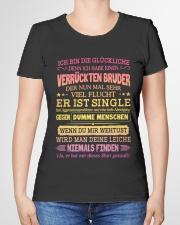 ICH BIN DIE GLUCKLICHE Premium Fit Ladies Tee garment-premium-tshirt-ladies-front-01