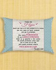 PARA MI HIJA Rectangular Pillowcase aos-pillow-rectangle-front-lifestyle-6