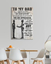 TO MY DAD 20x30 Gallery Wrapped Canvas Prints aos-canvas-pgw-20x30-lifestyle-front-05