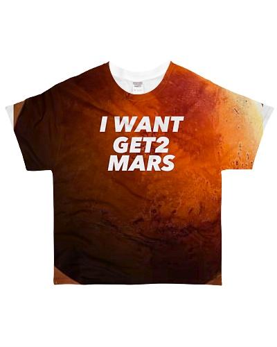 I want Get2Mars T-Shirt
