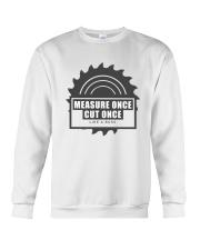 Measure Once Like a Boss Crewneck Sweatshirt thumbnail