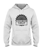 Measure Once Like a Boss Hooded Sweatshirt thumbnail