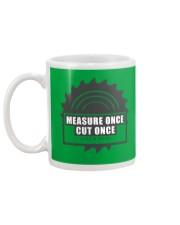Measure Once Like a Boss Mug back