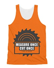 Measure Once Like a Boss All-over Unisex Tank thumbnail