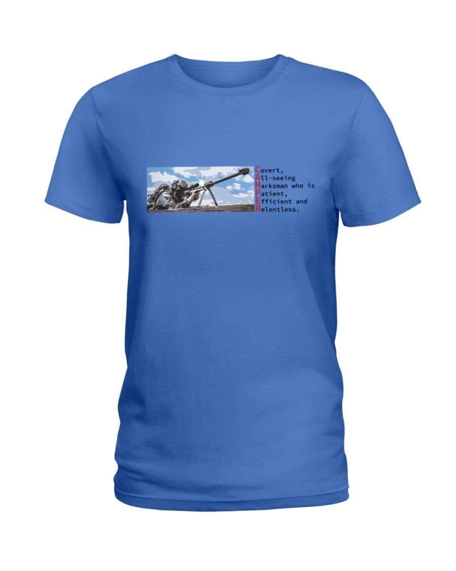 Elite Camper Ladies T-Shirt