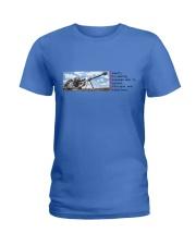 Elite Camper Ladies T-Shirt front