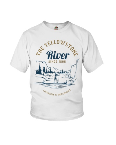 The yellow stone river since 1806
