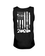 senior quarantined flag v3 Unisex Tank thumbnail