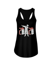 Senior dabbing Ladies Flowy Tank tile