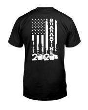 Quarantine flag Classic T-Shirt back