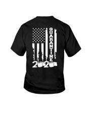 Quarantine flag Youth T-Shirt thumbnail