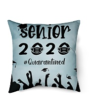 "Facemask Senior 2020 quarantined Indoor Pillow - 16"" x 16"" thumbnail"