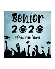 Facemask Senior 2020 quarantined Square Coaster thumbnail