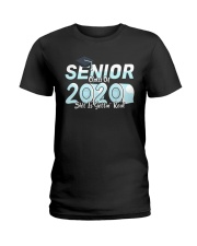 Class of 2020 getting real Ladies T-Shirt thumbnail
