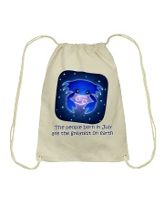 born in July the great Drawstring Bag thumbnail