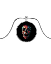 Skullers Necklace Skull IN-09 Metallic Circle Necklace thumbnail