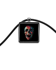 Skullers Necklace Skull IN-09 Cord Rectangle Necklace thumbnail