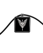 Skullers Necklace Skull IN-05 Cord Rectangle Necklace thumbnail