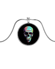 Skullers Necklace Skull IN-06 Metallic Circle Necklace thumbnail