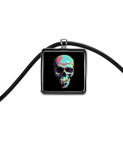 Skullers Necklace Skull IN-06 Cord Rectangle Necklace thumbnail