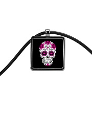 Skullers Necklace Skull-IN-02 Cord Rectangle Necklace thumbnail