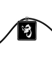 Skullers Necklace Skull IN-08 Cord Rectangle Necklace thumbnail