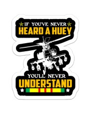 YOU 'LL NEVER UNDERSTAND Sticker - Single (Vertical) front