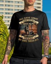 WE OWE THEM Classic T-Shirt lifestyle-mens-crewneck-front-8