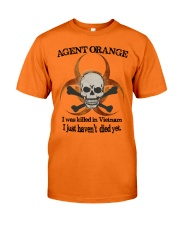 AGENT ORANGE Classic T-Shirt front