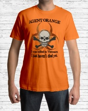 AGENT ORANGE Classic T-Shirt lifestyle-mens-crewneck-front-1
