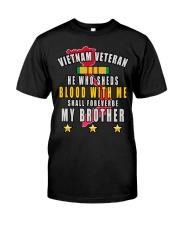 VIETNAM VETERAN Classic T-Shirt front