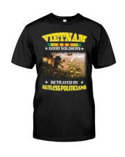 BETRAYED Classic T-Shirt front