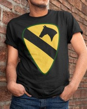 1st Cavalry - Presents for Veterans Classic T-Shirt apparel-classic-tshirt-lifestyle-26