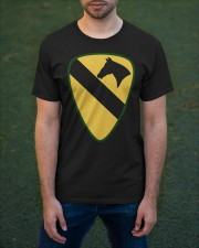 1st Cavalry - Presents for Veterans Classic T-Shirt apparel-classic-tshirt-lifestyle-front-42