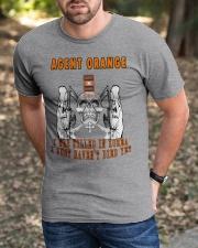 AGENT ORANGE - KOREA VETERANS Classic T-Shirt apparel-classic-tshirt-lifestyle-front-52