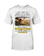 VIETNAM VETERAN NEVER ENDS Classic T-Shirt tile