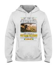 VIETNAM VETERAN NEVER ENDS Hooded Sweatshirt thumbnail