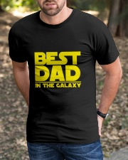 best dad in the galaxy Classic T-Shirt apparel-classic-tshirt-lifestyle-front-52