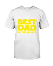 best dad in the galaxy Classic T-Shirt tile