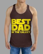 best dad in the galaxy All-over Unisex Tank aos-tank-unisex-lifestyle01-front